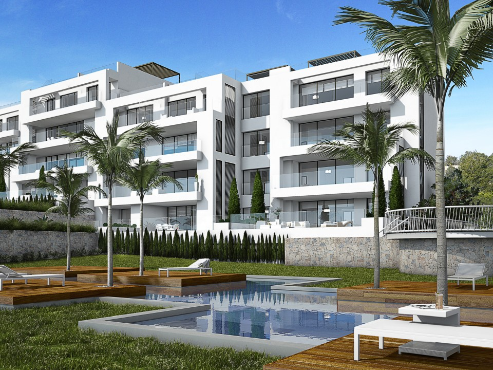Acacia Apartments Palmera Blue Real Estate Investment In Spain